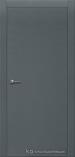 Межкомнатная дверь Краснодеревщик шпон дуба 700 Эмаль Серая глухая