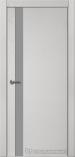 Межкомнатная дверь Краснодеревщик шпон дуба 701 Эмаль Светло-серый Лакобель серо