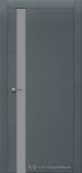 Межкомнатная дверь Краснодеревщик шпон дуба 701 Эмаль Серый Лакобель серое
