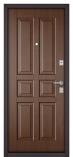 Металлическая входная дверь Бульдорс MASS 70 Орех