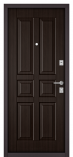 Металлическая входная дверь Бульдорс MASS 70 Орех темный