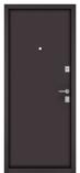 Металлическая входная дверь Бульдорс MASS 70 Steel Антик медь