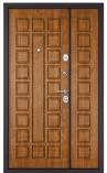 Металлическая входная дверь Бульдорс MEGA Золотистый Дуб