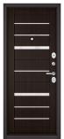 Металлическая входная дверь Бульдорс STANDART 90 Ларче Шоколад