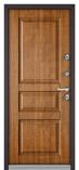 Металлическая входная дверь Бульдорс TERMO 100 Дуб золотой