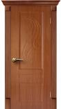 Межкомнатная дверь AIRON Канадка Елизавета ДГ Дуб темный жемчуг