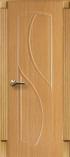 Межкомнатная дверь AIRON Канадка Фаина ДГ Дуб светлый кремовый