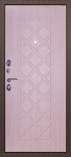 Металлическая входная дверь Страж 100-ка Сандал Белый