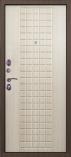 Металлическая входная дверь Страж 100-ка Беленый Дуб