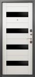Металлическая входная дверь Страж 2К Аксель Дуб Беленый