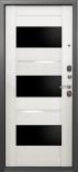 Металлическая входная дверь Страж 3К Premium Беленый Дуб