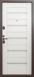 Металлическая входная дверь Страж 3К Techno Беленый Дуб