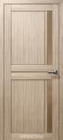 Дверь межкомнатная из эко шпона Дельта М Амурская Лиственница Стекло бронза