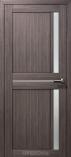 Дверь межкомнатная из эко шпона Дельта М Дуб Неаполь Стекло сатин