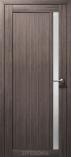 Дверь межкомнатная из эко шпона Гамма М Дуб Неаполь Стекло сатин