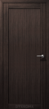 Дверь межкомнатная из экошпона Омега М Орех Бисмарк глухое