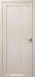 Дверь межкомнатная из экошпона Омега М Снежная Лиственница глухое