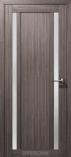 Дверь межкомнатная с 3D покрытием Гамма М2 Дуб Неаполь Стекло Сатин Белый