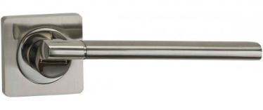 Ручка раздельная для межкомнатной двери «Puerto AL 522-02 SN/NP» никель матовый/